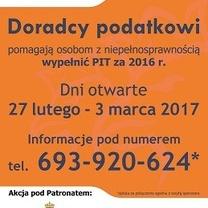 Akcja PIT dla osób z niepełnosprawnością