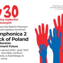 Zaproszenie na koncert organizowany przez OIRP w Krakowie
