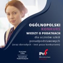 Ogólnopolski Konkurs Wiedzy o Podatkach 23.06.2021 r.